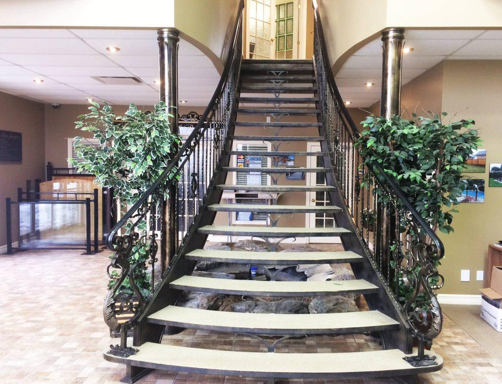Clôture Provinciale - Escaliers 1