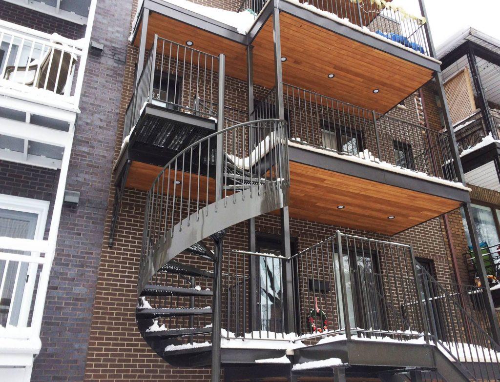 Cloture Provinciale - Escaliers 2