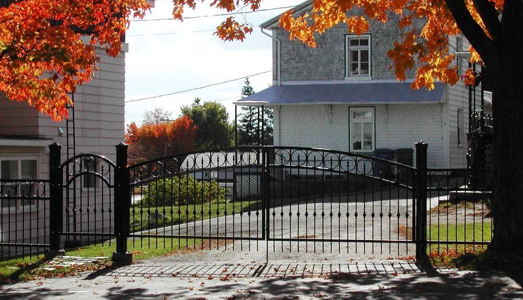 Clôture Provinciale - Portail 1
