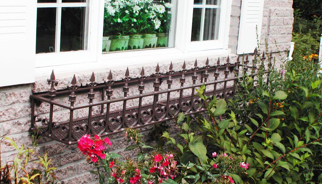 Cloture Provinciale - Boite a fleurs 2
