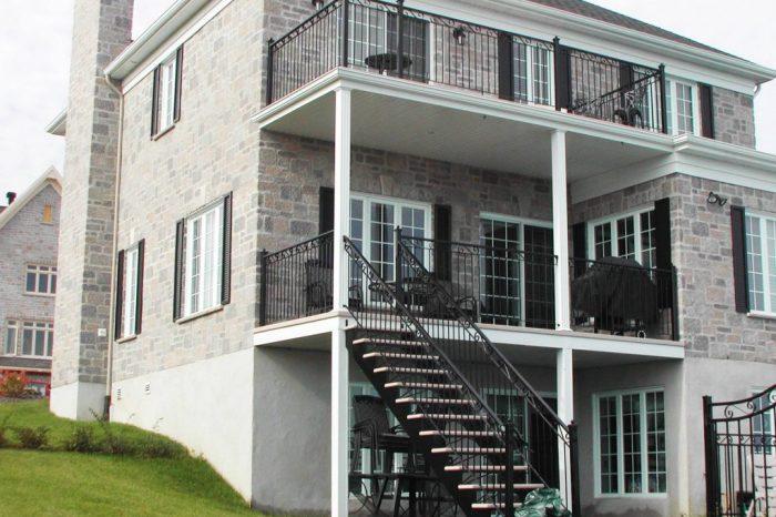 Cloture Provinciale - Escaliers 4