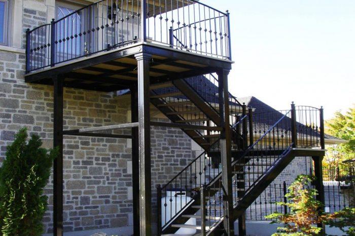 Cloture Provinciale - Escaliers 5