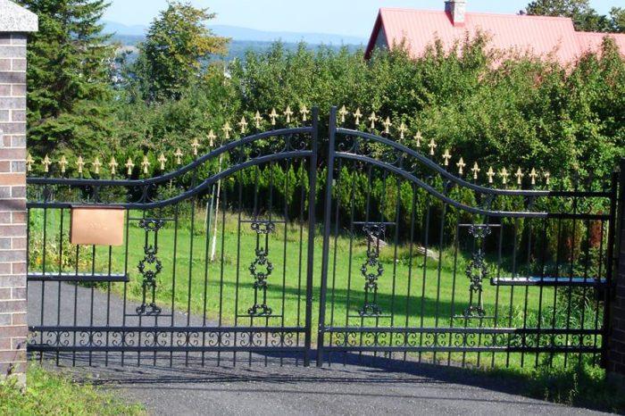 Clôture Provinciale - Portail 4