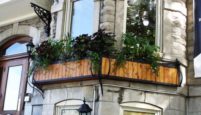 Cloture Provinciale - Boite a fleurs 5
